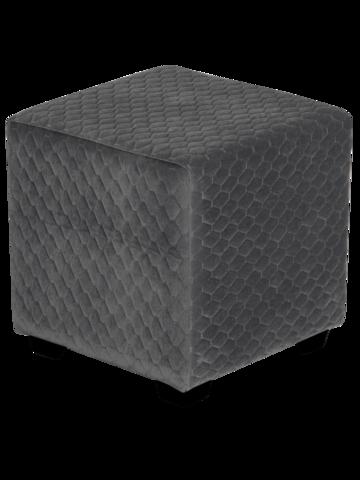 Пуфик Даймонд 36-37 (тёмно серый)