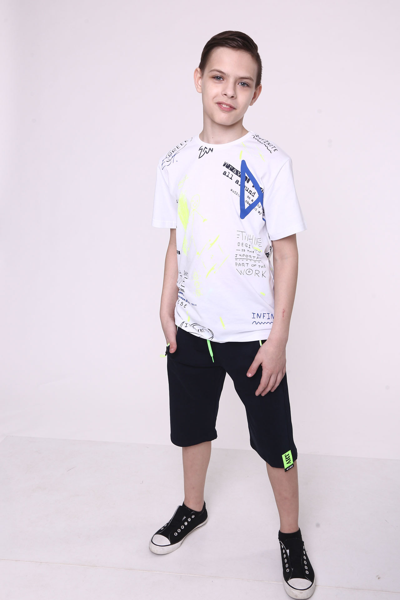 Шорты для мальчика Art Bold Турция, 9127 (140-176)