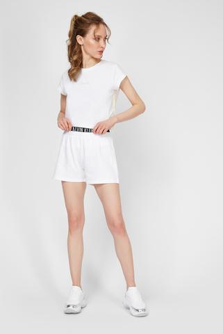 Женские белые шорты Calvin Klein