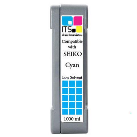 Картридж для Seiko 64S / 100S Cyan 1000 мл