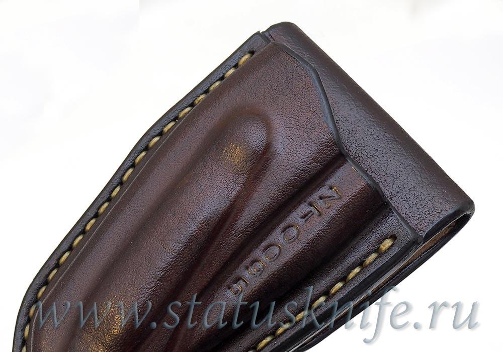 Чехол кожаный коричневый ZT 0095 - фотография
