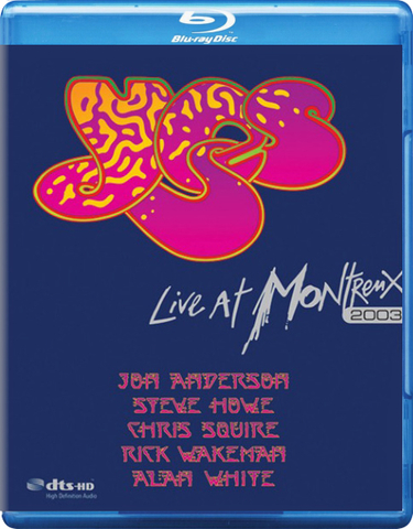 Yes / Live At Montreux 2003 (Blu-ray)