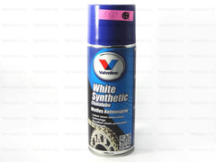 Смазка мото цепи VALVOLINE White Synthetic Chainlube 400 мл спрей