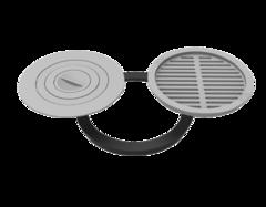 Комплект Grillver  440 (плита+решетка-гриль)