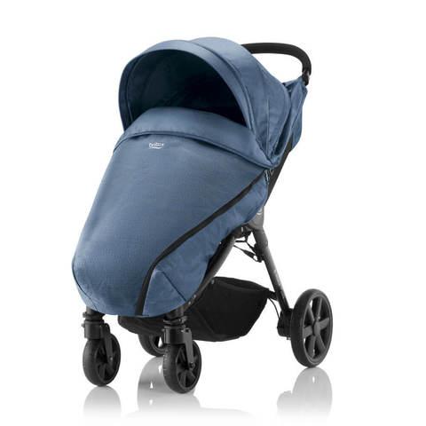 Прогулочная коляска Britax B-Agile 4 Plus Blue Denim