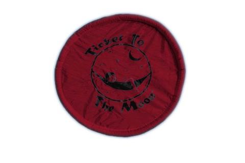 Картинка фризби Ticket to the Moon Pocket Frisbee Burgundy - 1