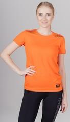 Элитная женская футболка Nordski Run Orange W