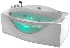 Акриловая ванна Gemy G9072 B L
