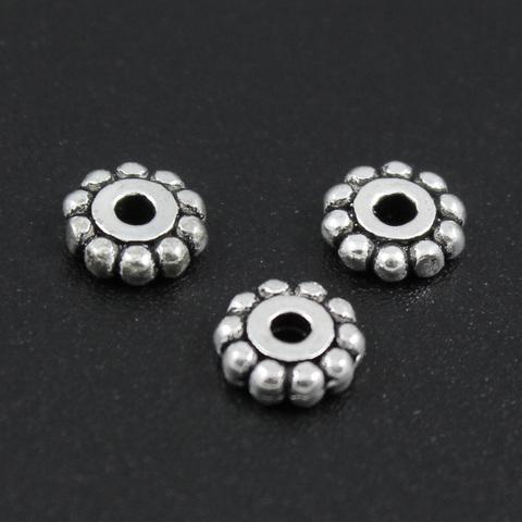 Рондель разделитель 5,8 мм серебро 925