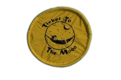 Складной фризби Ticket to the Moon Dark Yellow