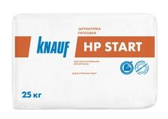Гипсовая штукатурка Knauf ХП Старт для внутренних работ, 25 кг