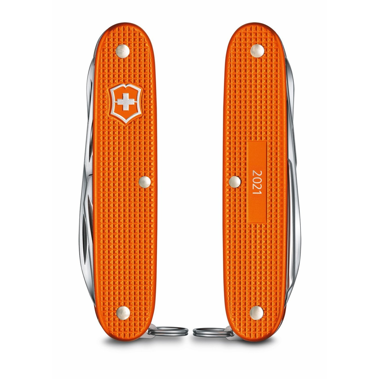 Складной швейцарский нож Victorinox Pioneer X Alox Limited Edition 2021, цвет оранжевый (0.8231.L21) лимитированное издание   Wenger-Victorinox.Ru