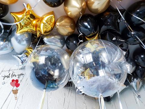Заказать шарики под потолок