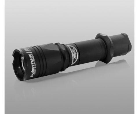 Фонарь Armytek Dobermann Pro / XHP35 HI  Теплый / 1300 лм / 5°:40° / 1x18650 или 2xCR123A