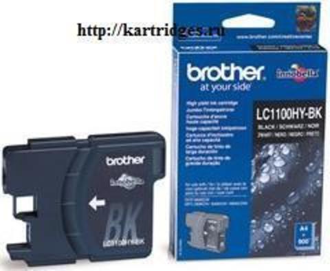 Картридж Brother LC1100BK