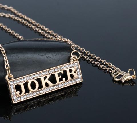 подвеска надпись джокер/joker