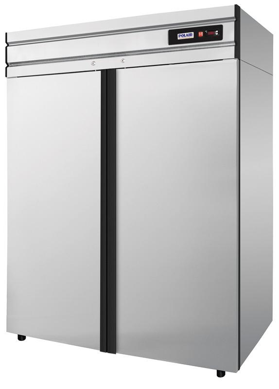 фото 1 Холодильный шкаф Polair CM110-G (ШХ-1,0 нерж.) на profcook.ru
