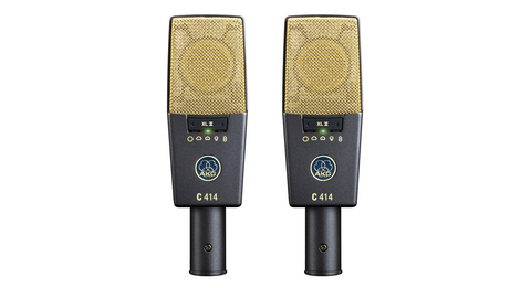 AKG C414 XLII MATCHED PAIR подобранная пара конденсаторных микрофонов