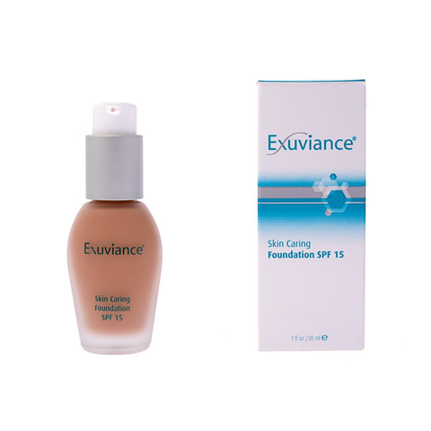 EXUVIANCE | Основа под макияж SPF 15 / Skin Caring Foundation SPF 15, (30 мл)