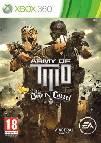 Army of Two: The Devil's Cartel (Xbox 360, английская версия)