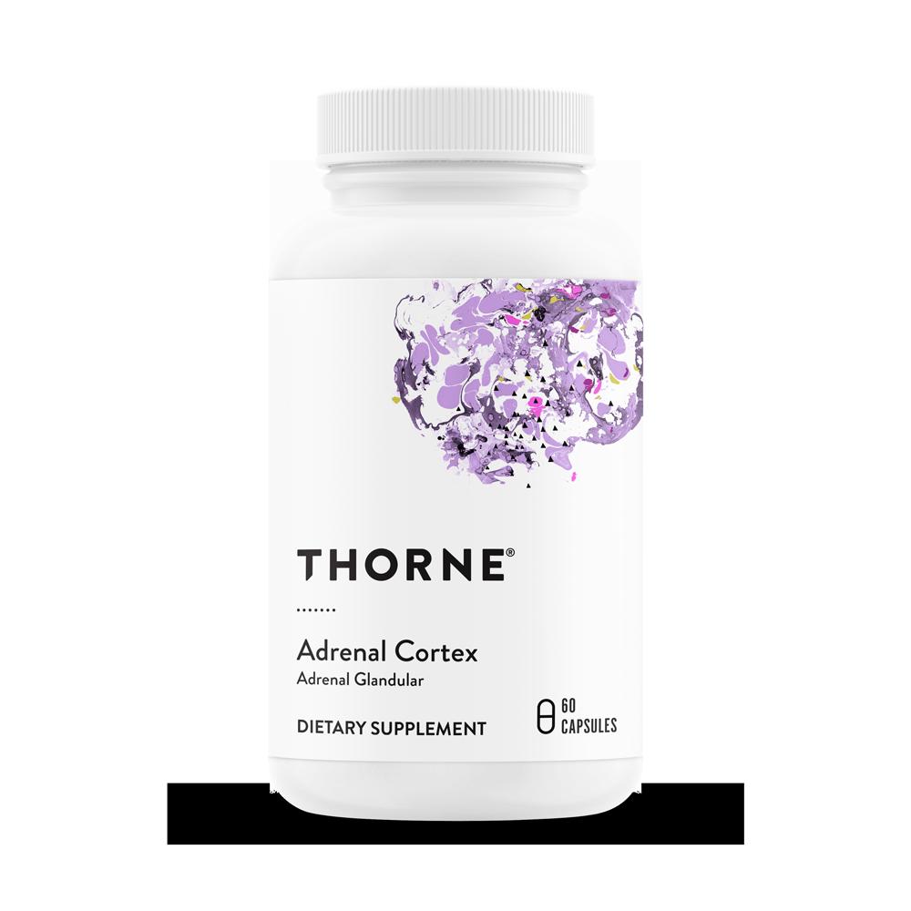 Кора Надпочечников, Adrenal Cortex, Thorne Research (60 капсул)