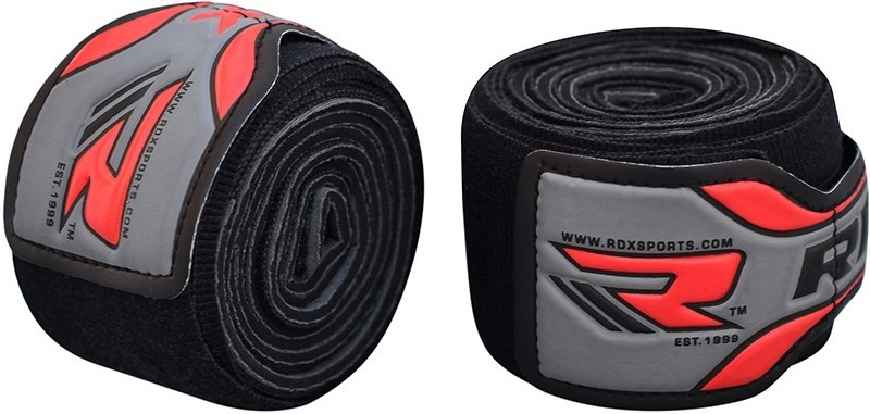 Капы и бинты Бинты RDX Hand Wraps Neo Prene 3 м Black 1.jpg
