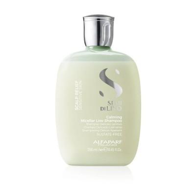 Alfaparf Milano SDL Scalp: Шампунь мицеллярный успокаивающий (Calming Micellar Low Shampoo), 250мл