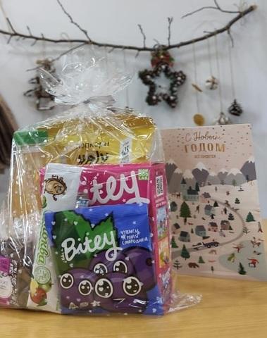 Полезный подарок для детей 6 предметов, 330гр