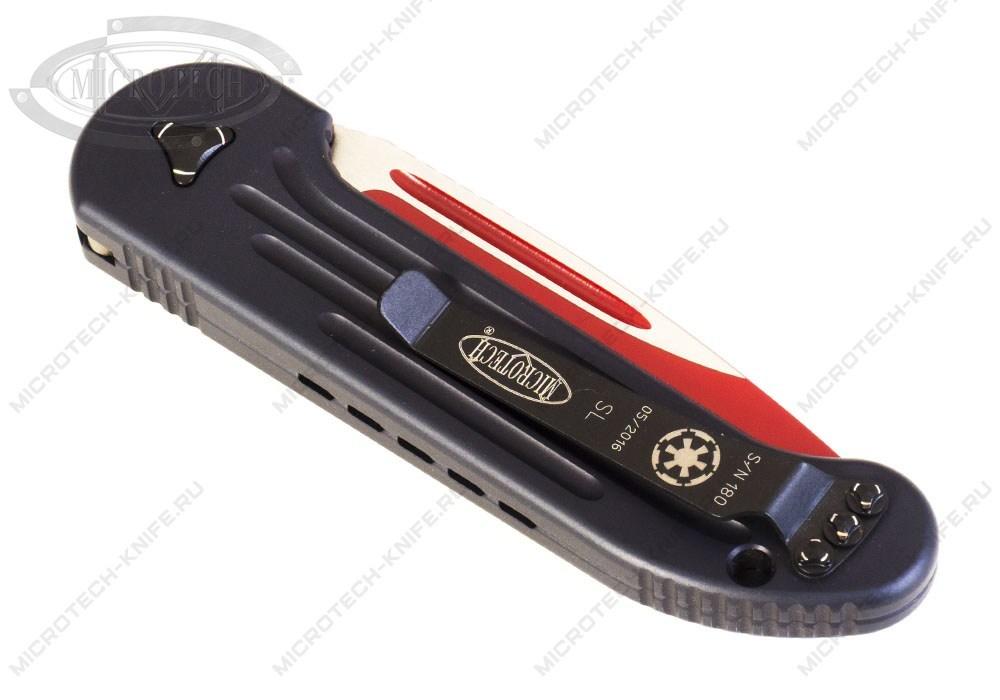 Нож Microtech LUDT модель 135-1SL Sith Lord - фотография