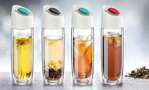 Термокружка Asobu Simply clear (0,4 литра), серая
