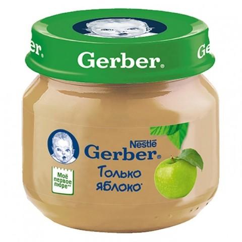 Gerber® Фруктовое пюре яблоко 80гр