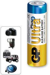 Батарейки GP 15AUP-S2 Ultra alkaline PLUS, LR6, AA, трей 2/40/