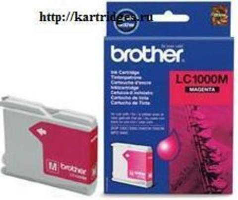 Картридж Brother LC1000M