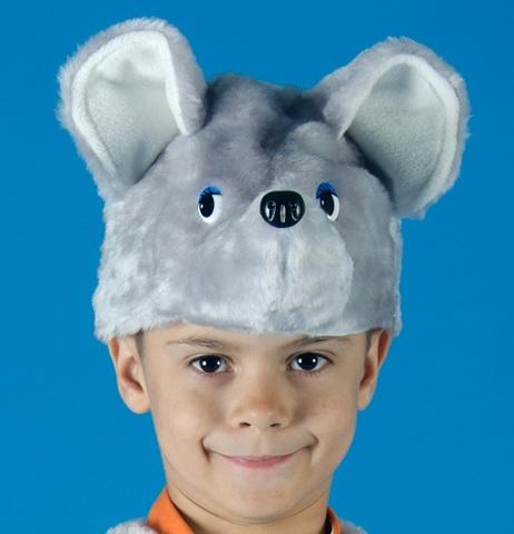 Карнавальная шапочка Мышонка