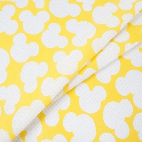 Бязь плательная 150 см 1717/8 цвет желтый