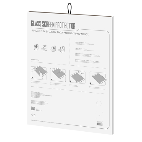 Защитное стекло Baseus 0.3mm Anti-blue Light Tempered Glass Film For Pad Pro 12.9inch(2018)Transparent