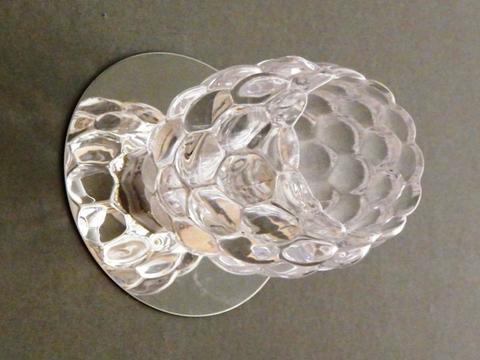 Встраиваемый светильник 2000-1-8С Хром с лампочкой GU5.3, 220V 35W