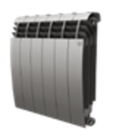 Радиатор Royal Thermo BiLiner 350 Silver Satin - 4 секций