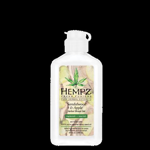 Гель для бритья Сандал и Яблоко / Hempz Sandalwood & Apple Herbal Shave Gel
