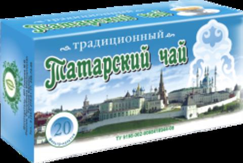ТАТАРСКИЙ ТРАДИЦИОННЫЙ ЧАЙ, ф/п, 20шт, кор. (ИП Гордеев М.В.)