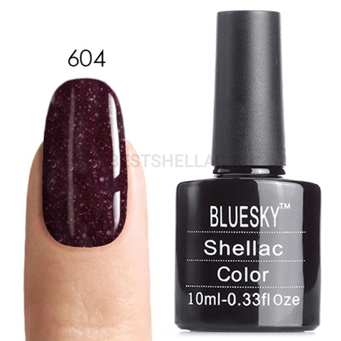Bluesky Shellac 40501/80501 Гель-лак Bluesky № 40604/80604 Poison Plum, 10 мл large_604.jpg