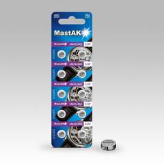 Батарейки MastAk AG 1 (364, LR621) 10 BL