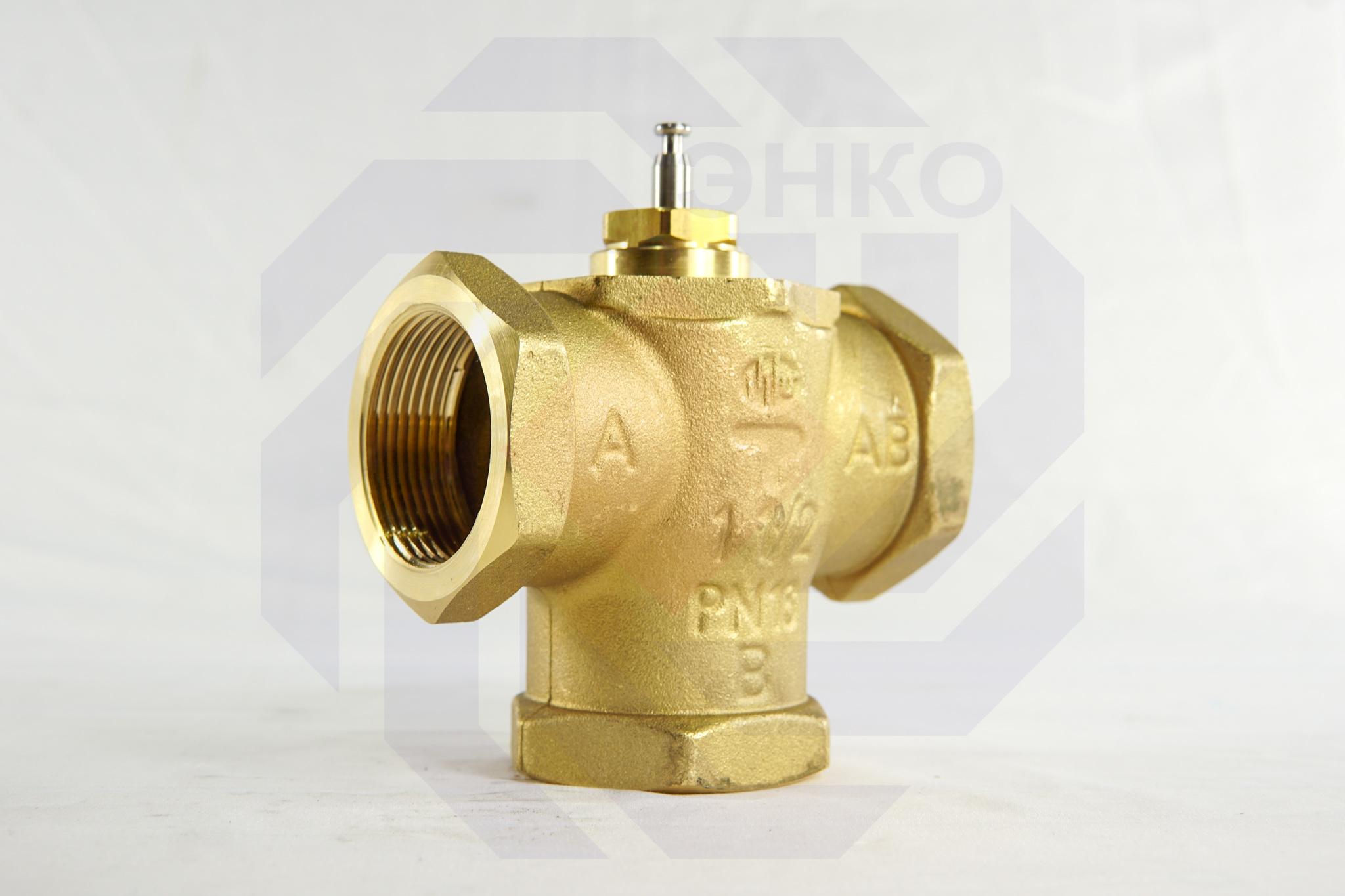 Клапан регулирующий трехходовой MUT MK DN 40