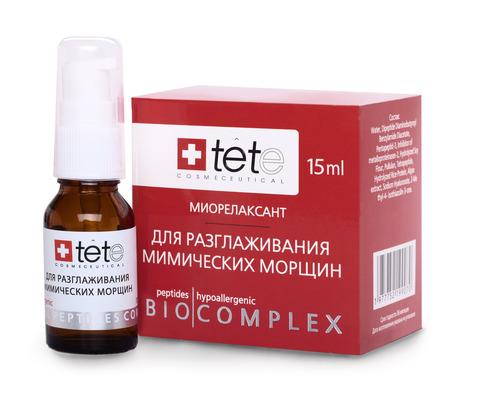 Биокомплекс миорелаксант для коррекции мимических морщин. Tete 15 мл