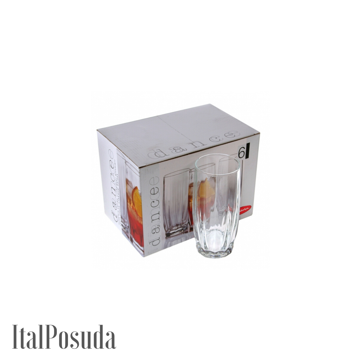 Набор стаканов для коктейля Pasabahce Dance (Данс), 6 шт BP42868