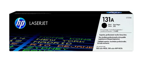 Оригинальный картридж HP CF210A (№131A), чёрный