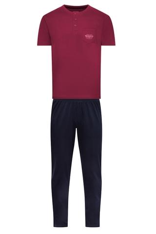 Пижама мужская со штанами 37051 GURU