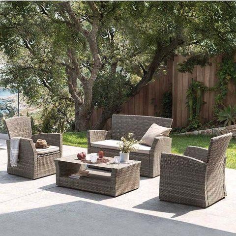 Комплект мебели с диваном AFM-405G Brown МРК