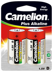 Батарейки Camelion Alkaline LR20, D (2/12) BL