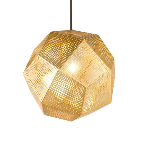 Подвесной светильник копия Etch by Tom Dixon (золотой)